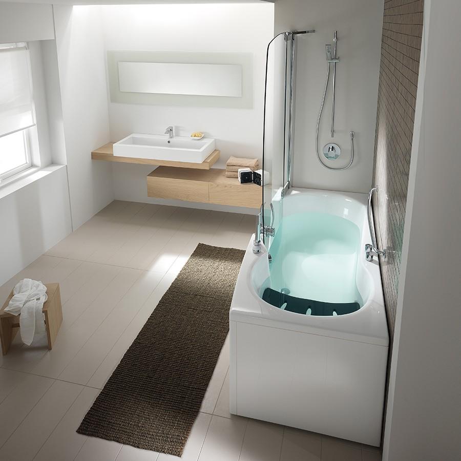 Badkar badkar med dörr : Spabadkar 382 J med dörr för lätt Ã¥tkomst. Made in Italy