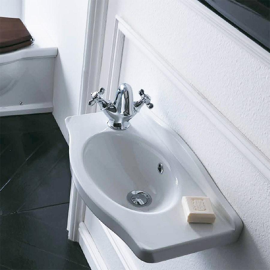 Inredning tvättställ med pelare : Imperial 71 Tvättställ i klassisk stil pÃ¥ pelare. Made in Italy