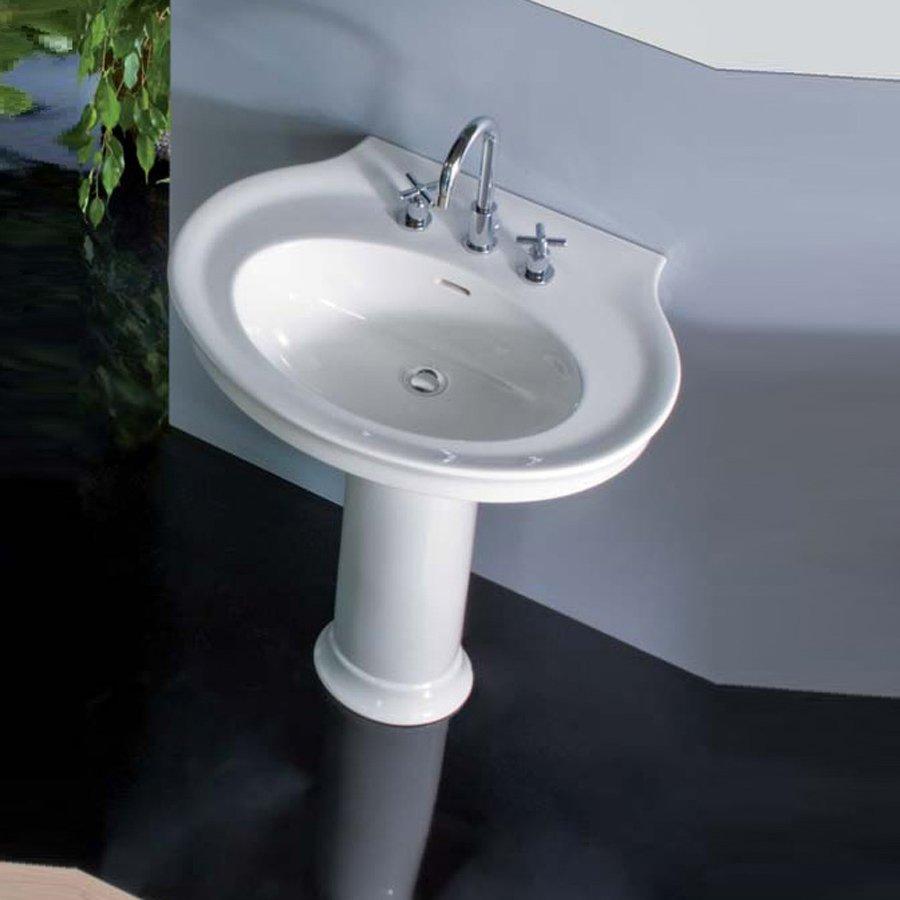 Inredning tvättställ med pelare : Dolcevita O 75 Tvättställ i klassisk stil. Made in Italy.