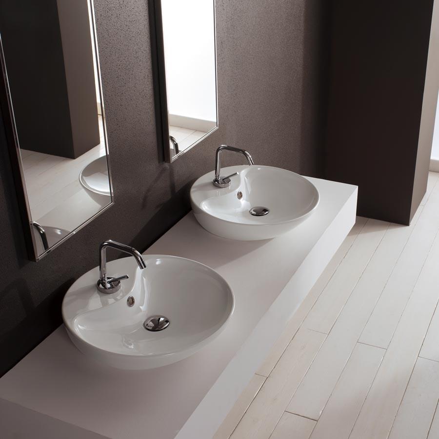 Tvättställ Round Shape. En vackar runt Tvätställ från Italien